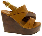 Ladies BETSY Platform Wedge Sandals Thumbnail 7