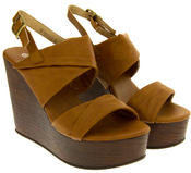 Ladies BETSY Platform Wedge Sandals Thumbnail 8