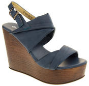 Ladies BETSY Platform Wedge Sandals Thumbnail 2