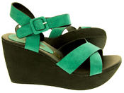 Ladies Wedge Platform Strappy Sandals Thumbnail 10