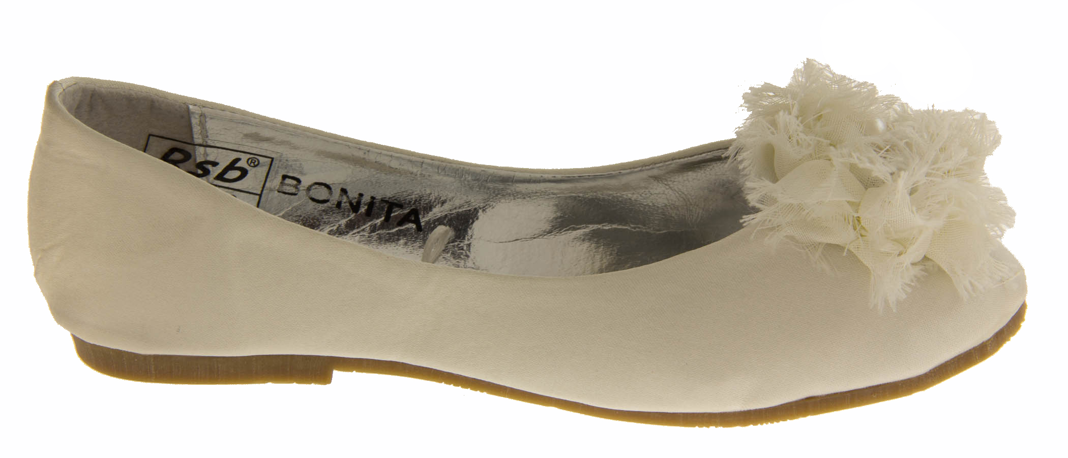 new white satin christening shoes flats formal shoe