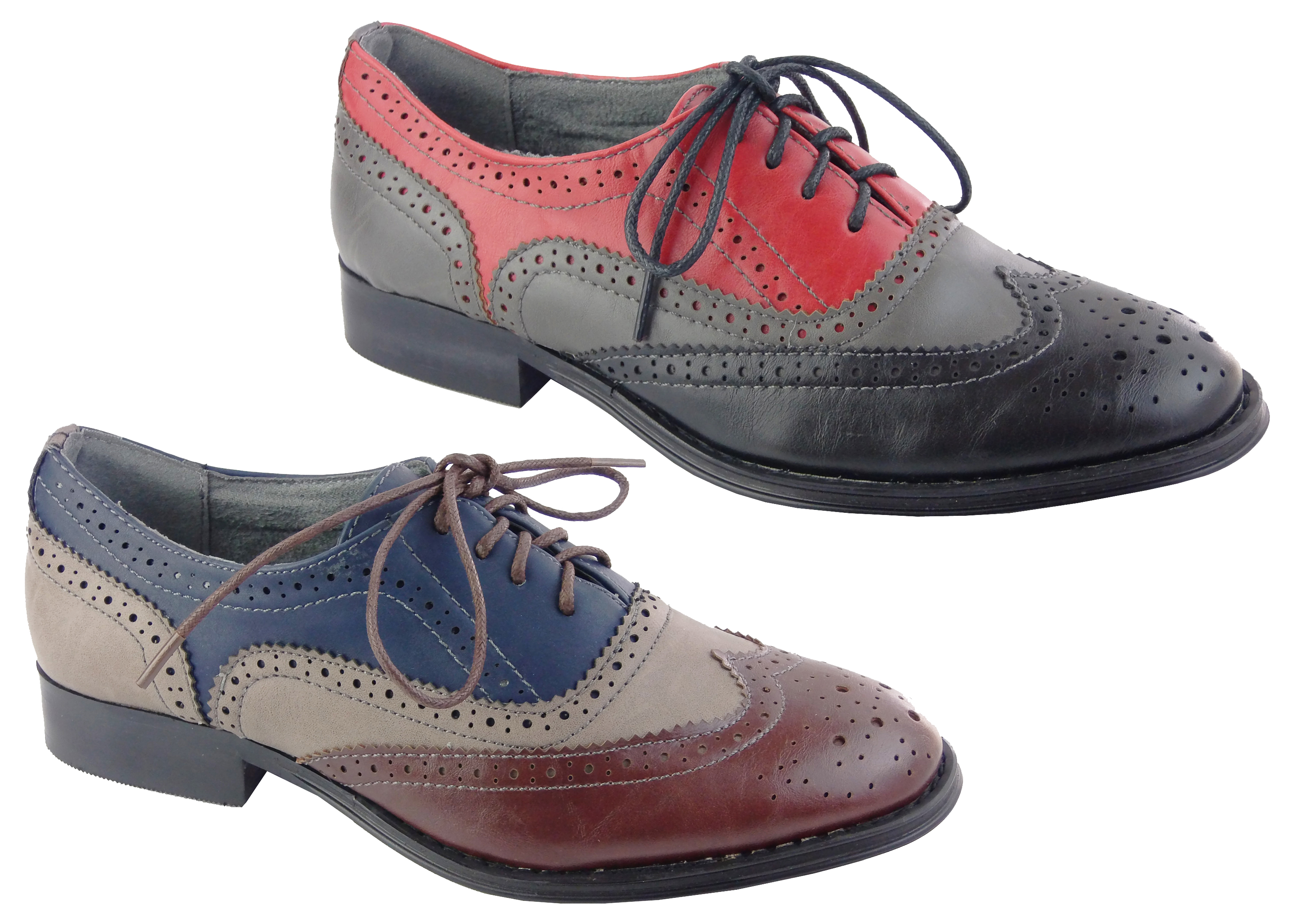 Put an androgynous spin on your look with a pair of women's brogues from our collection. Simple designs in dark tones are ideal for refining your workwear, while detailed styles featuring perforated patterns draw the eye.