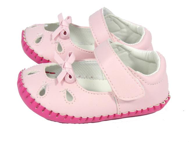 New Baby Infant Toddler Girls Pink Kiddiflex Sandals Pram