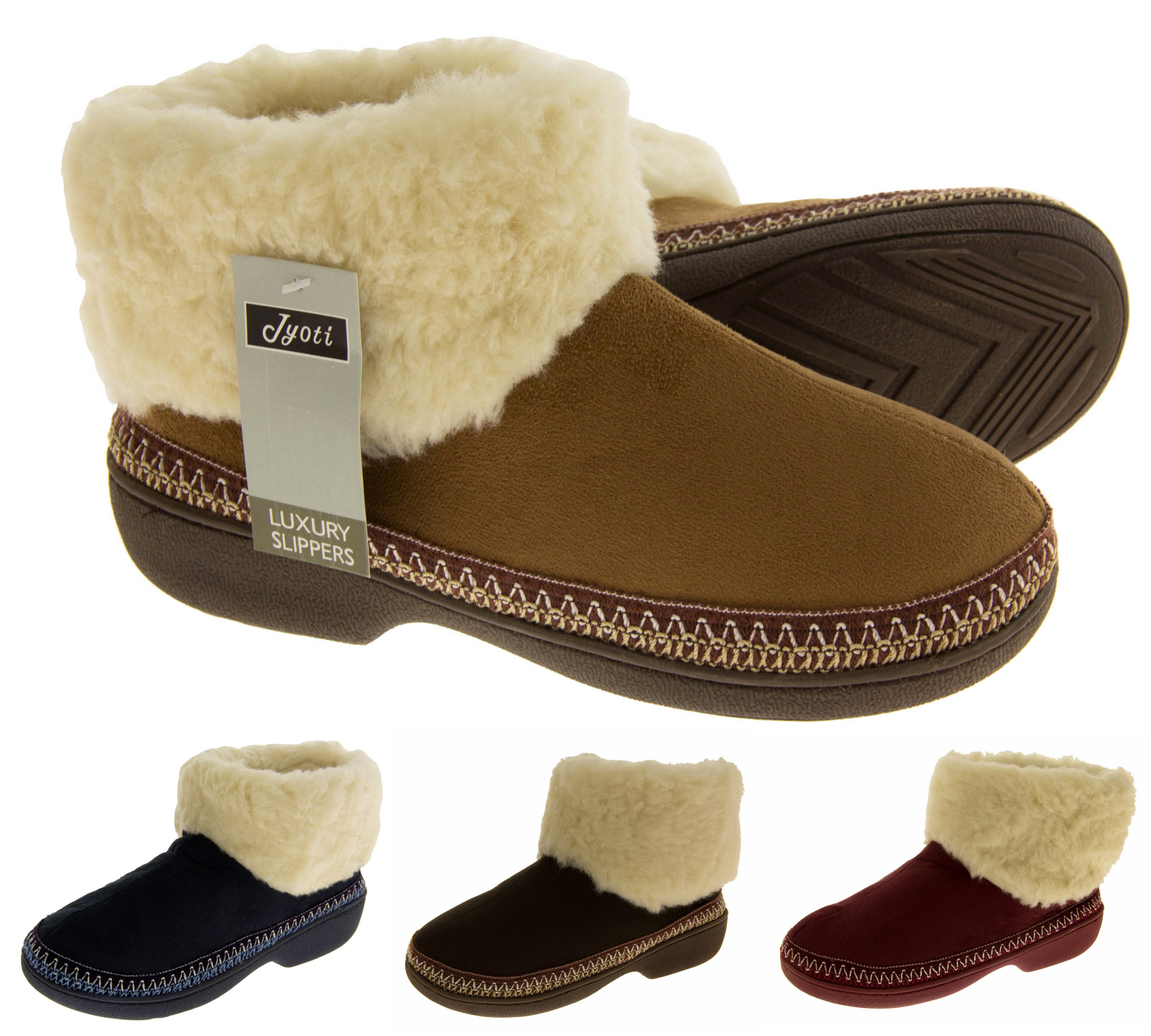 Stay comfortable in women's slippers. Women's slippers are a loungewear essential. No matter the time of year or the temperature, the plush materials and fashionable designs are great for morning routines and kicking back .