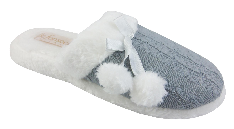 damen hausschuhe warm kuschelig damen pantoffeln winter weich flauschig ebay. Black Bedroom Furniture Sets. Home Design Ideas
