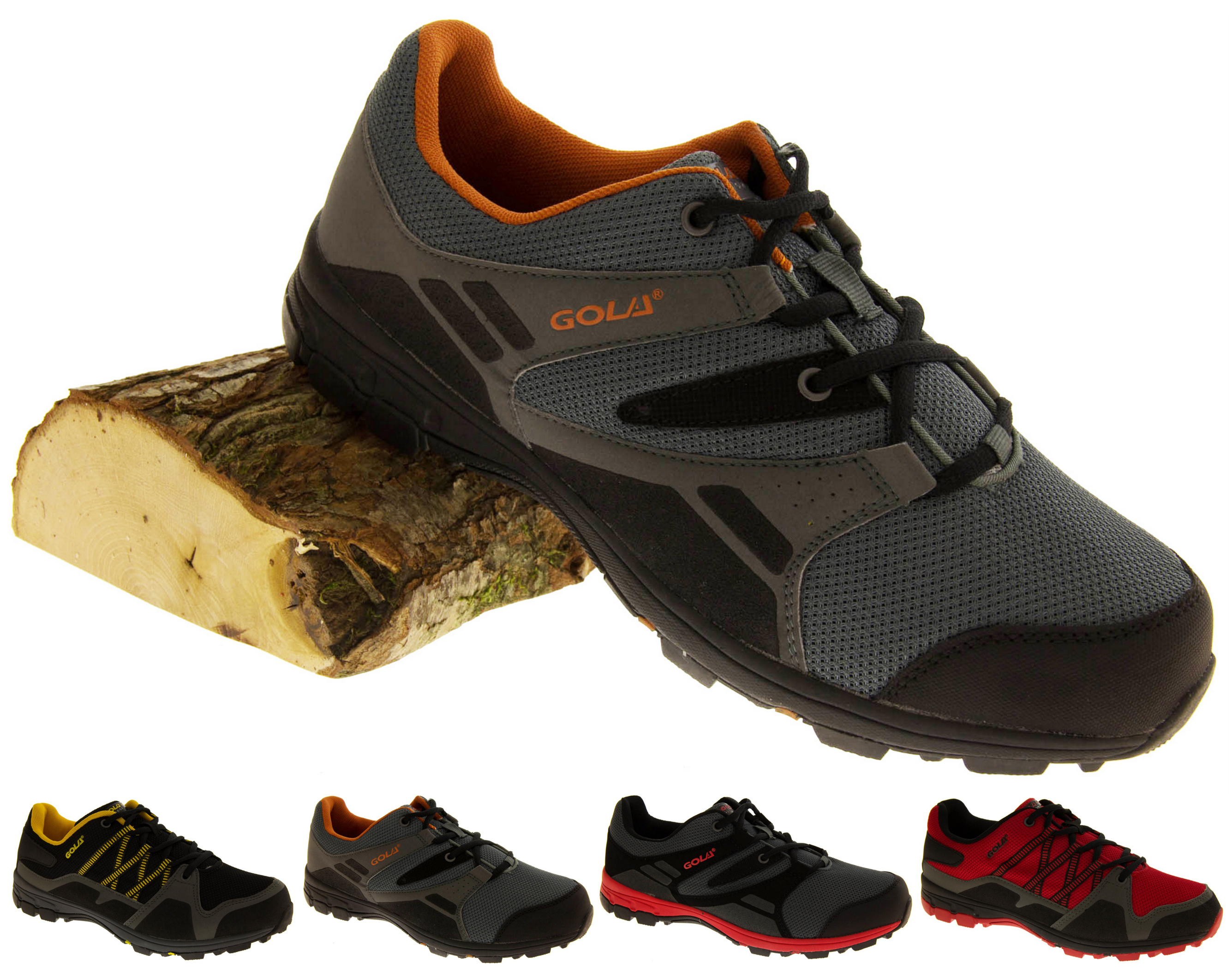 mens gola waterproof outdoor hiking walking work boots