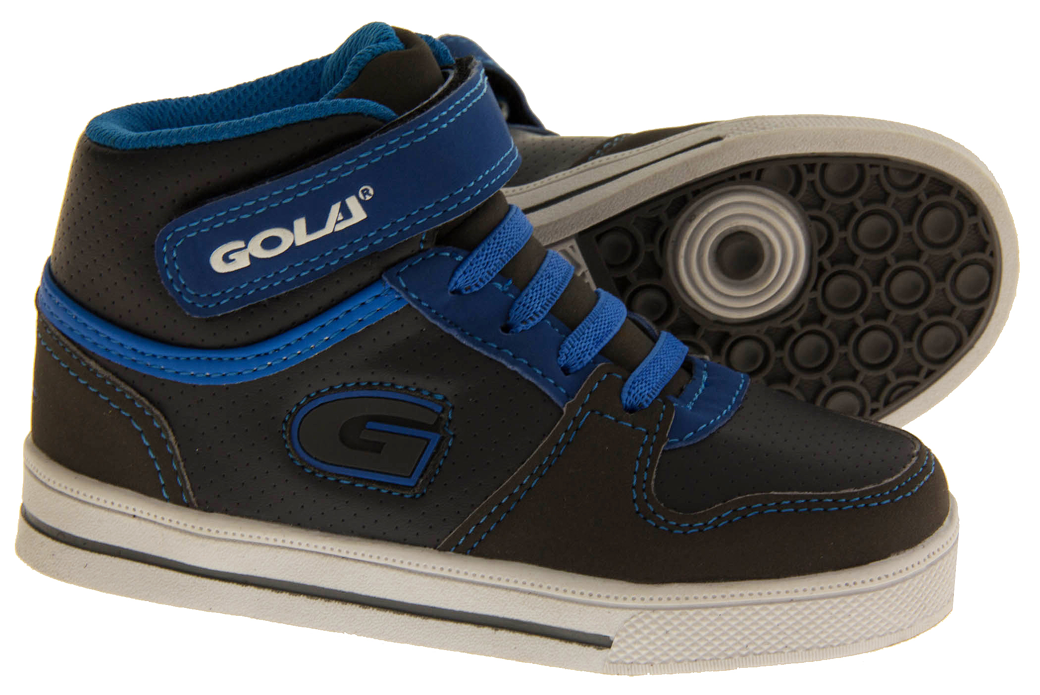 Boys Kids GOLA Hi-Tops High Tops Lace Up Fashion Trendy On