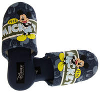Mens Disney Mickey Mouse Mule Slippers