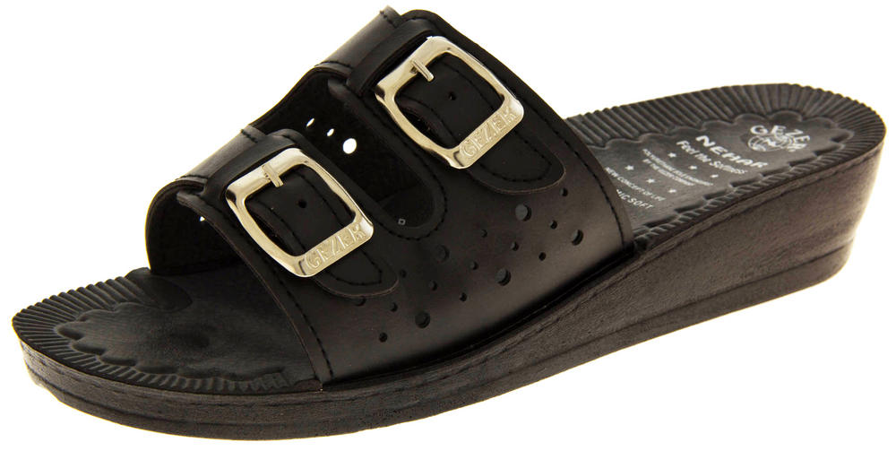 Ladies GEZER Slip On Mule Sandals