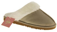 Womens DUNLOP Faux Fur Lined Slipper Mules Thumbnail 2