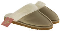 Womens DUNLOP Faux Fur Lined Slipper Mules Thumbnail 3