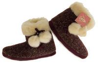 Ladies DUNLOP Faux Fur Lined Slipper Boots Thumbnail 5