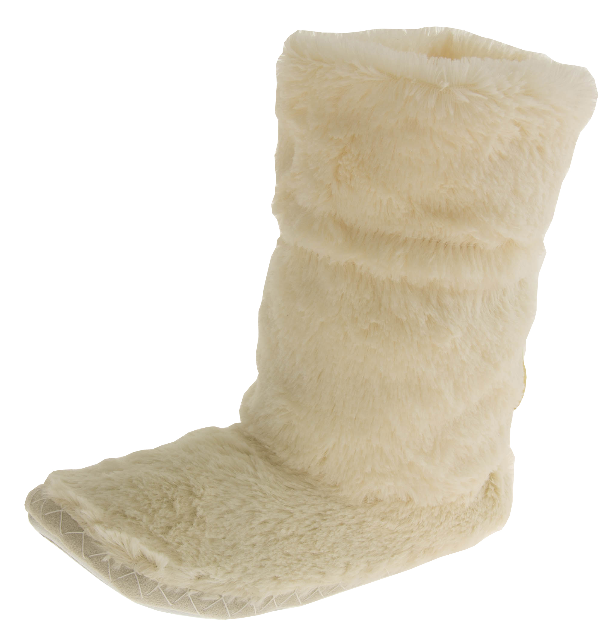 faux fur slouch slipper boots womens mens