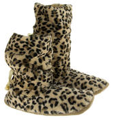 Ladies Faux Fur Slouch Slipper Boots Thumbnail 6