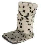 Ladies Faux Fur Slouch Slipper Boots Thumbnail 7