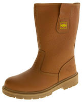 Mens NORTHWEST TERRITORY Labrador Leather Rigger Boots Thumbnail 6