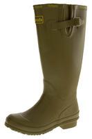 Womens WETLANDS Green Knee High Wellington Boots Thumbnail 1