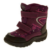 Boys Girls Faux Fur Lined Winter Snow Boots Thumbnail 5