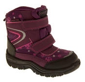 Boys Girls Faux Fur Lined Winter Snow Boots Thumbnail 6