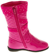 Girls Disco Party Low Heel Fashion Boots Thumbnail 4