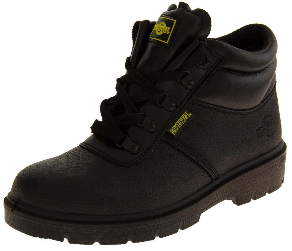 Mens NORTHWEST TERRITORY ALBERTA Leather Safety Boots