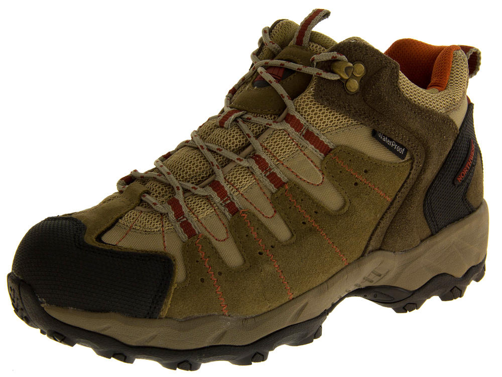 Mens NORTHWEST TERRITORY WINDSOR Leather Hiking Boots
