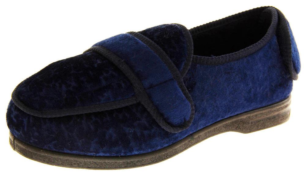 Ladies Luxury COOLERS Velcro Orthopaedic Diabetic slippers
