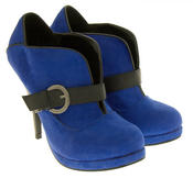 Ladies High Heel Ankle Shoe Boots Thumbnail 2