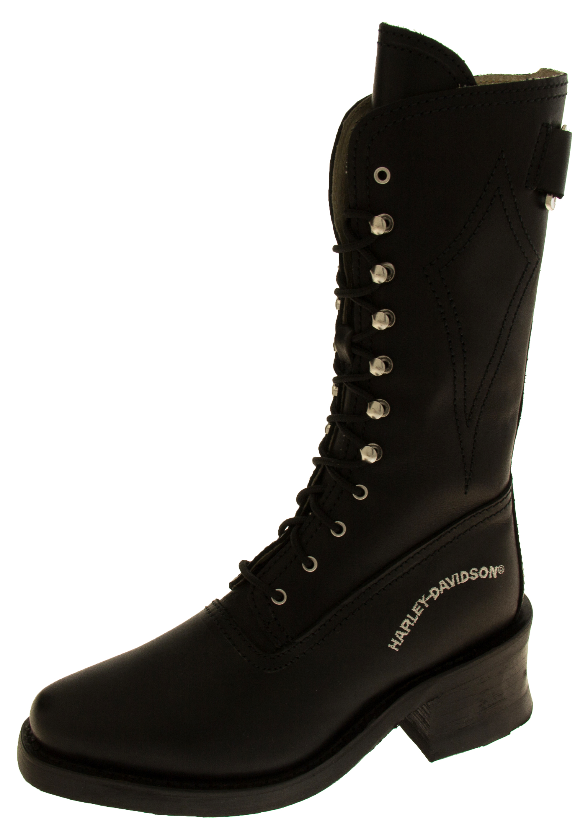 Luxury  About New Harley Davidson Iroquois Womens Biker Boots ALL SIZES