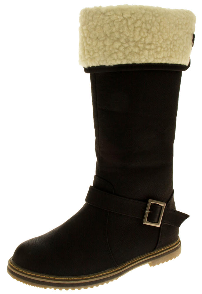 Womens COCONEL Faux Leather Tall Boots