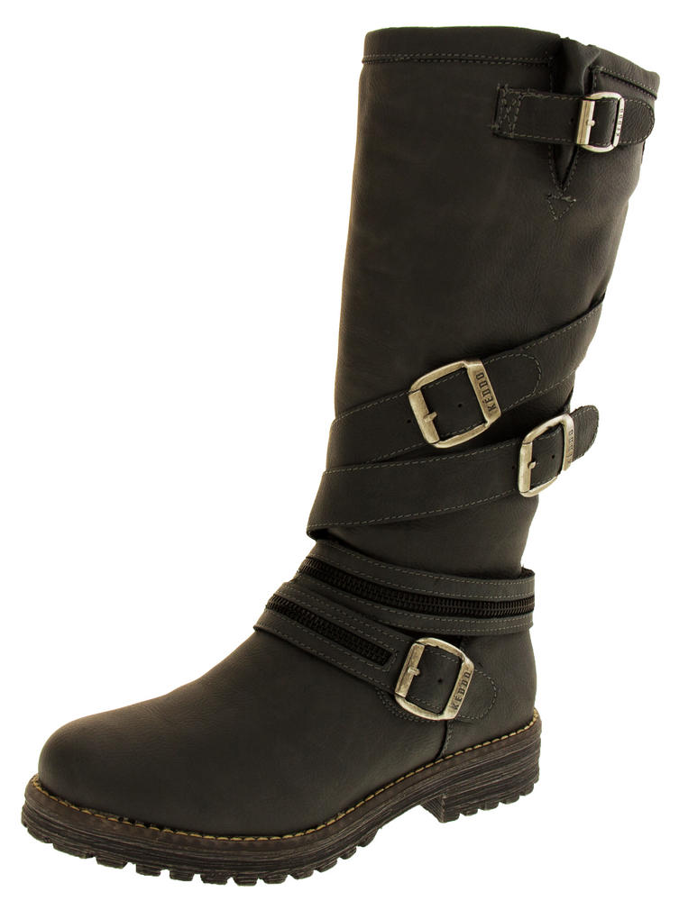 Womens KEDDO WIN-TEX Lined Faux Leather Boots