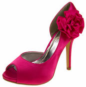Ladies Satin Wedding Pumps Formal Shoes Bridal Bridesmaid Heels Size 3 4 5 6 7 8