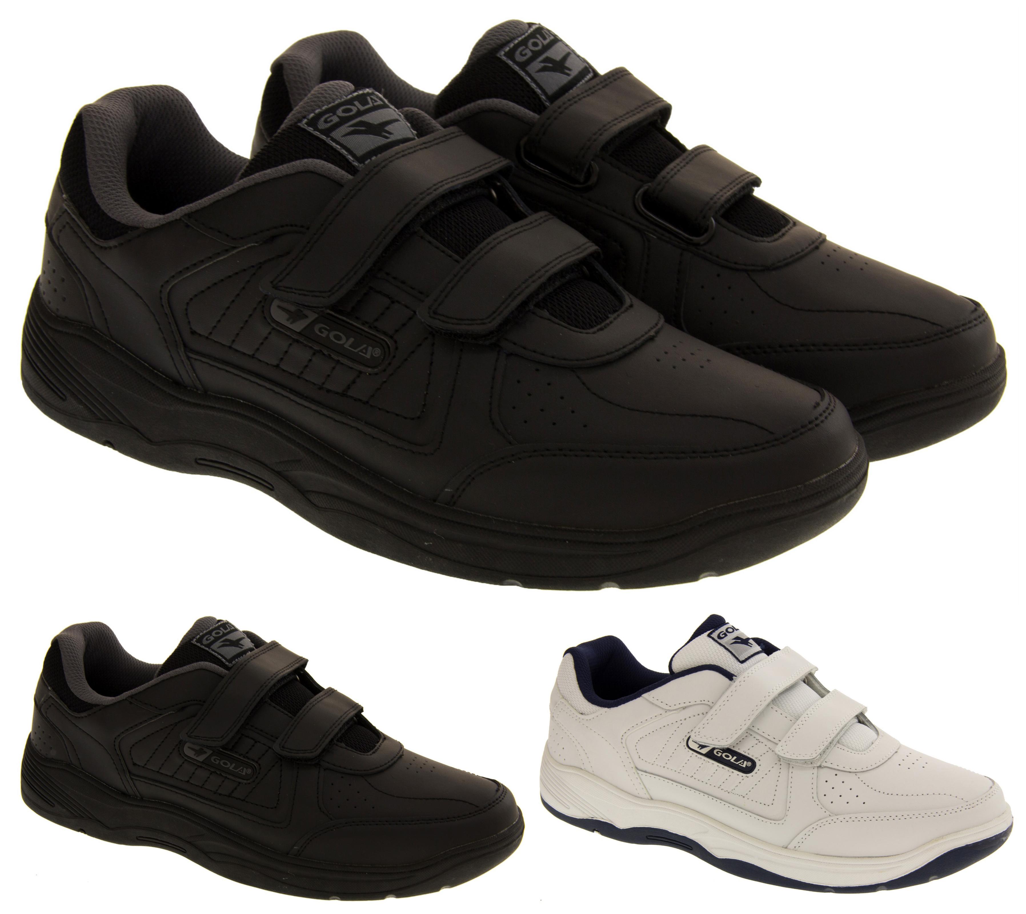 Size  Wide Boys Velcro Shoes
