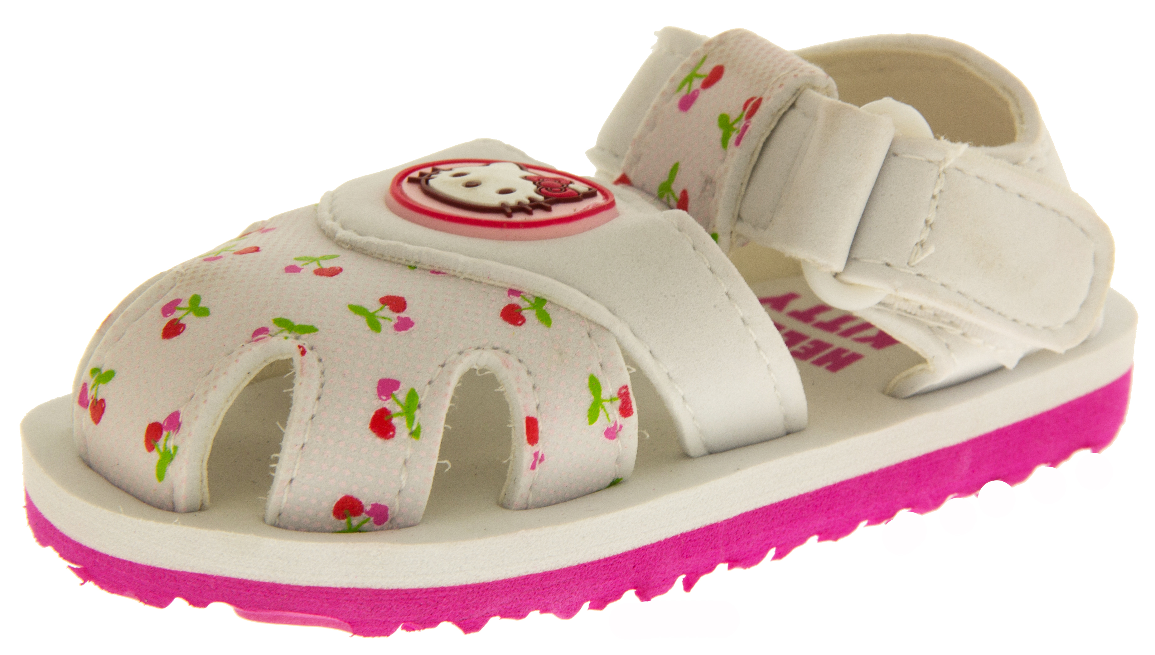 Baby Girls Hello Kitty Sandals Kids Pink White Beach ...