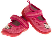 Girls HELLO KITTY Mary Jane Shoe Slippers Thumbnail 7
