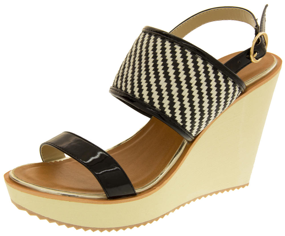 Womens DOLCIS High Heel Wedge Sandals