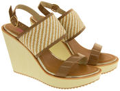 Womens DOLCIS High Heel Wedge Sandals Thumbnail 10