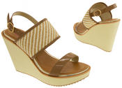 Womens DOLCIS High Heel Wedge Sandals Thumbnail 12