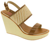 Womens DOLCIS High Heel Wedge Sandals Thumbnail 8