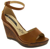 Womens Wedge Platform Strappy High Heel Sandals Thumbnail 5