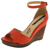 Womens Wedge Platform Strappy High Heel Sandals Thumbnail 7
