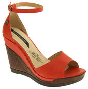 Womens Wedge Platform Strappy High Heel Sandals Thumbnail 8