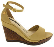 Womens Wedge Platform Strappy High Heel Sandals Thumbnail 3
