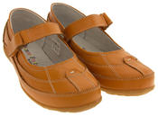Ladies COOLERS LEATHER Shoes Womens Summer Velcro Strap Mary Janes Thumbnail 8