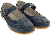 Ladies COOLERS LEATHER Shoes Womens Summer Velcro Strap Mary Janes Thumbnail 4