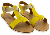 Womens BETSY Gladiator Sandals Flat Strappy Summer Shoes Thumbnail 11