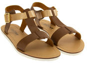 Womens BETSY Gladiator Sandals Flat Strappy Summer Shoes Thumbnail 5