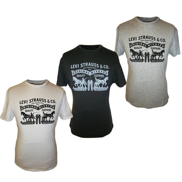 Levis White t Shirt Levis t Shirt Levi Logo on