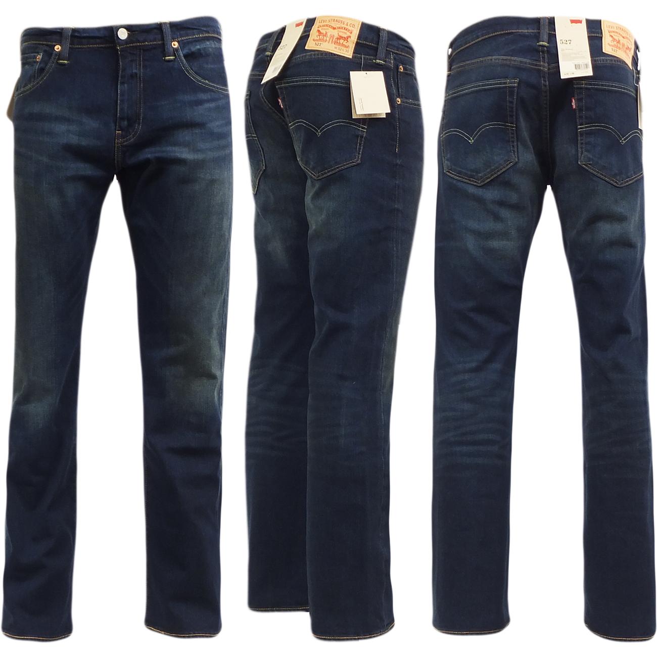 levi strauss jean 527 green edge bootcut jeans mr h. Black Bedroom Furniture Sets. Home Design Ideas
