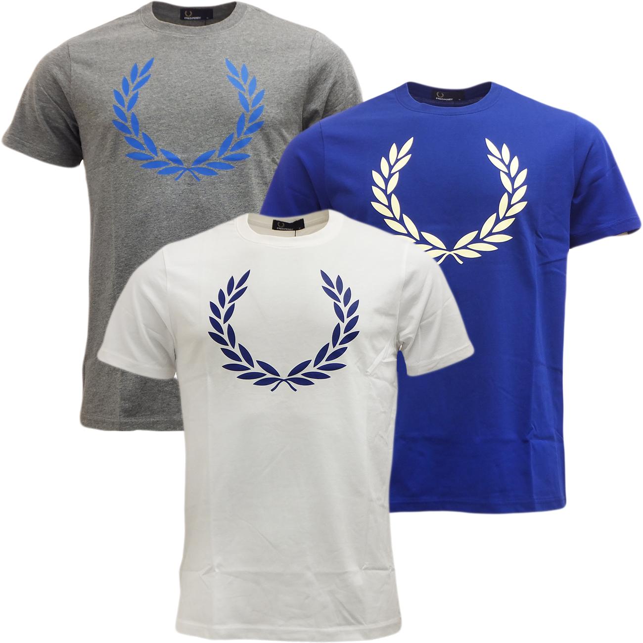 Mens Fred Perry T Shirt Short Sleeve Designer Top Ebay